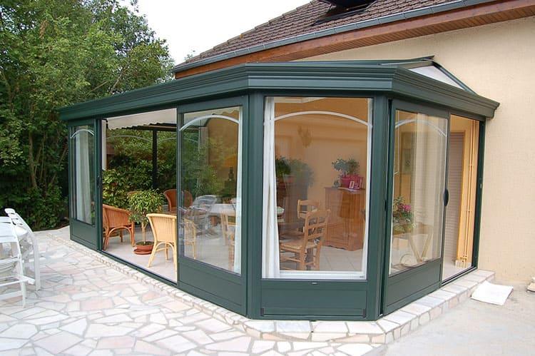 veranda neuilly sur seine baies et verandas. Black Bedroom Furniture Sets. Home Design Ideas